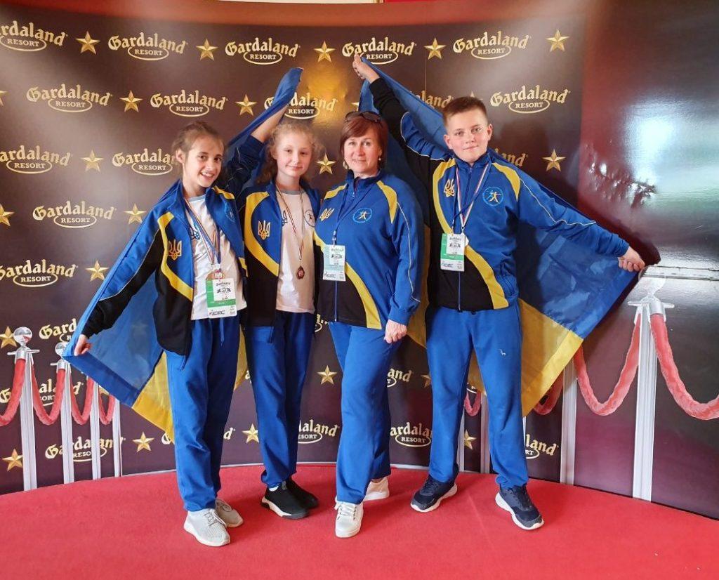 Срібні нагороди отримали покровські черлідери на European Cheer League 2019.