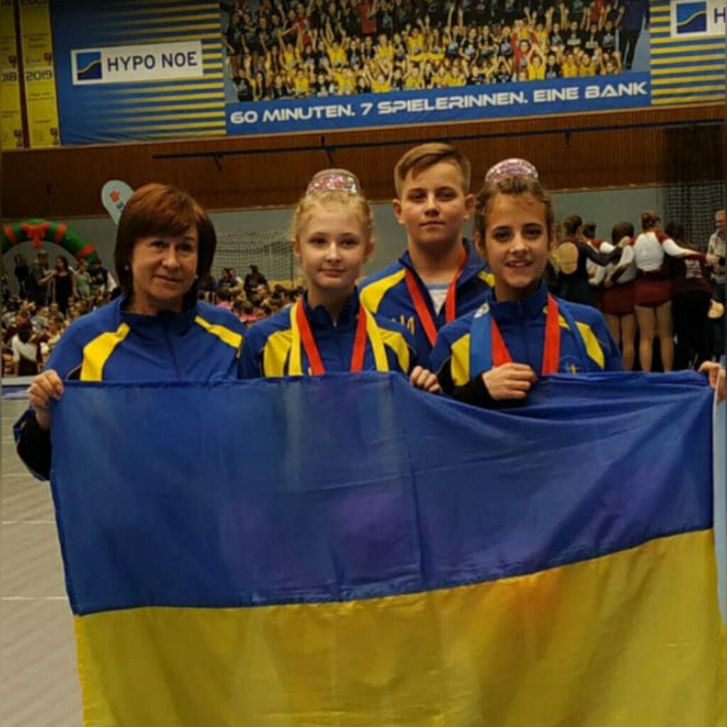 Наші спортсмени на міжнародній арені. Ліга Европи в Австрії.